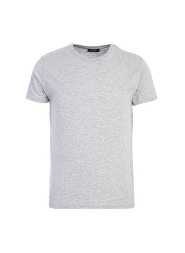 Kiğılı Tişört Gri